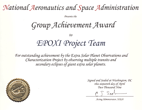 NASA Group Achievement Award