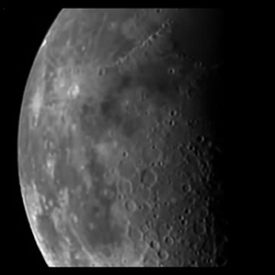 HRI image of moon from 2007 lunar cal