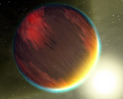 Artist's concept of a hot Jupiter planet
